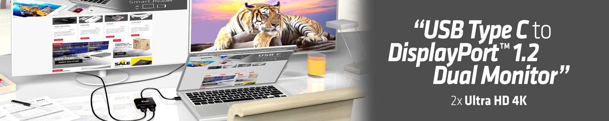 Club 3D | SenseVision MST Hub USB 3 1 Gen1 Type C to