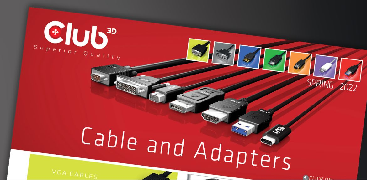 Club 3D Kabel und Adapter Katalog 2021