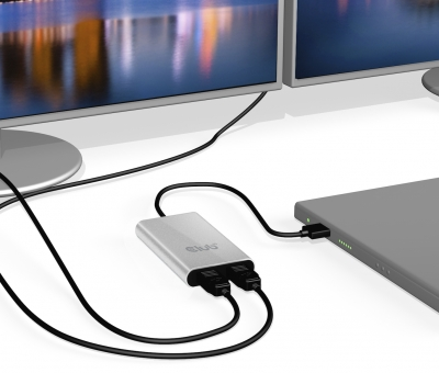 New SenseVision Thunderbolt™ 3 to Dual Displayport™ 1.2 Adapter