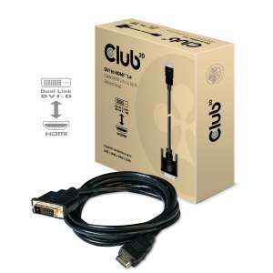 Cable DVI a HDMI 1.4 M / M 2m / 6.56ft Bidireccional