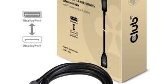 Cable de extensión DisplayPort 1.4 HBR3 8K60Hz M / F 2m / 6.56ft