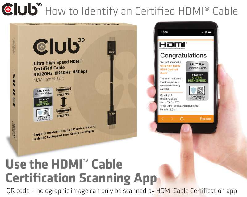 HDMI Cable Certification App